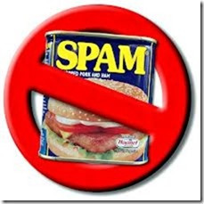 No spam can
