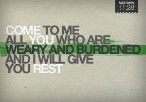 Matthew 11.28